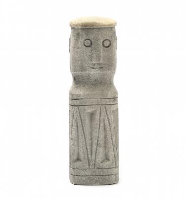 Stone man Sumba House Gods